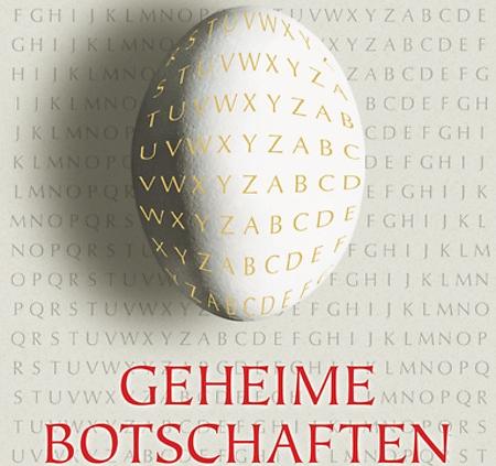 "Buchumschlag - ""Geheime Botschaften"""