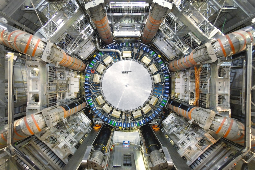 Ansicht des ATLAS-Experiments (Quelle: https://home.cern/science/experiments/atlas. Eingesehen am 11.05.2021, 18:29 MESZ)